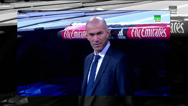 Zidane como DT del Real Madrid