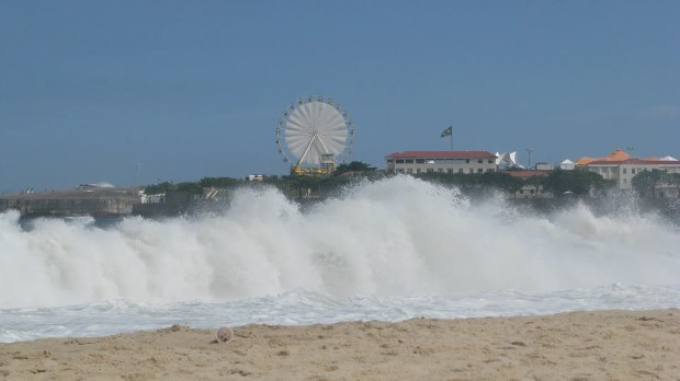 Copacabana beach babes