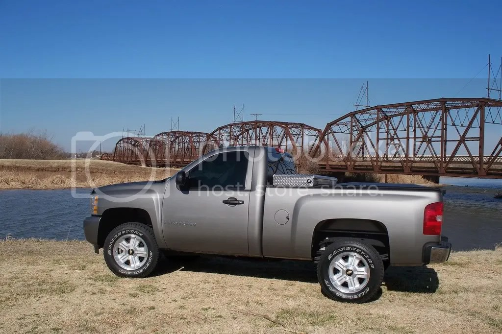 NBS  Stock 18  Z71 Wheel   Tire Options After 2  Level   Chevy Truck       IMG
