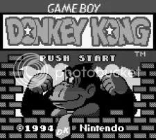 DK Title Screen