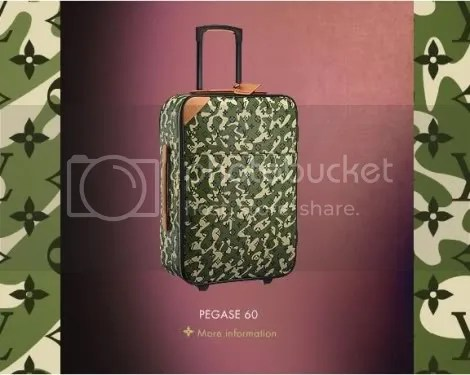 Louis Vuitton Monogramouflage Pegase