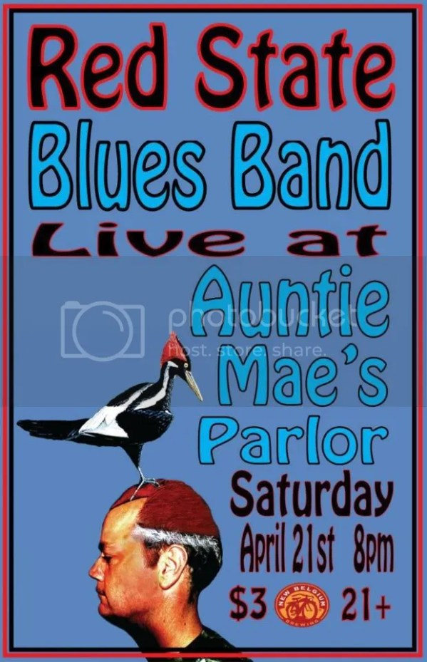 red state blues band auntie maes parlor