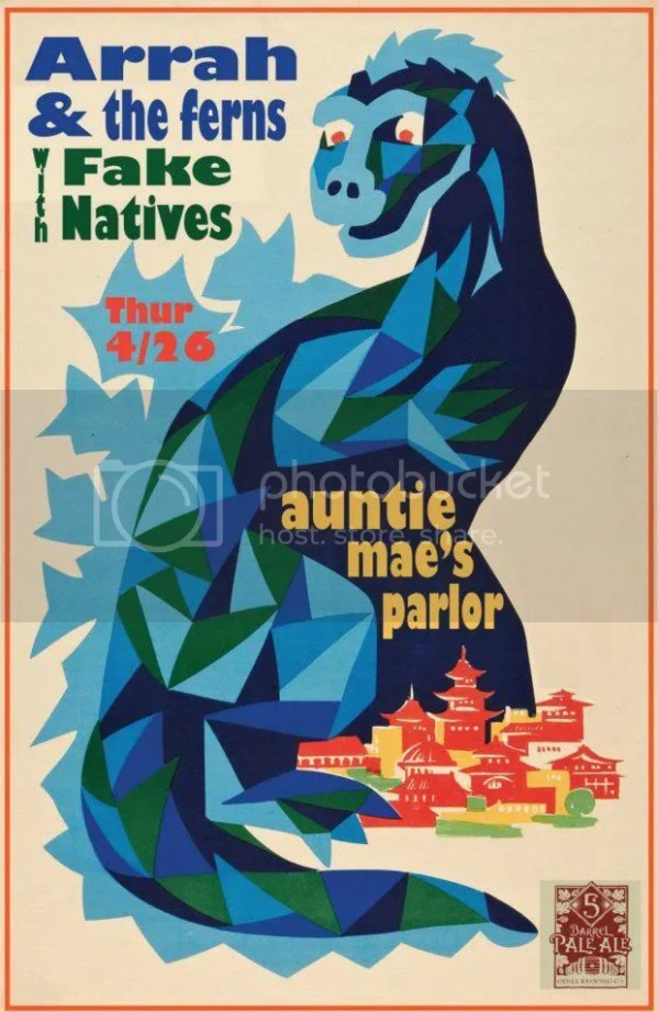 fake natives auntie maes parlor arrah and the ferns