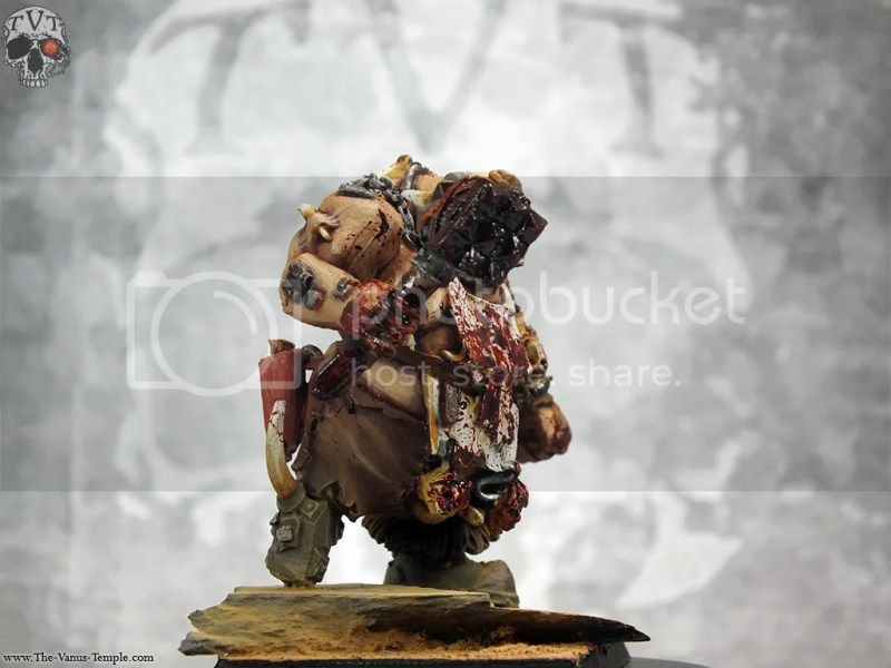 OGRES: Butcher/Slaughtermaster Complete! Warhammer Fantasy Battles tutorial Ogre kingdoms Gaming games workshop characters