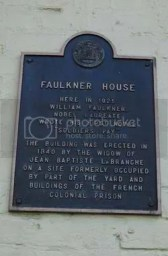 Former home of William Faulkner in Pirate's Alley