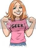 geek in pink