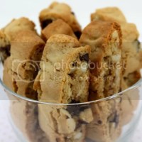 Almond Chocolate Chunk Biscotti