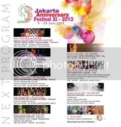 jakarta anniversary festival xi 2013