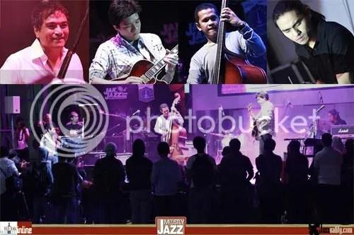 indra lesmana quartet, mostly jazz