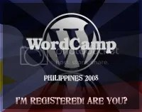 wordpress wordcamp philippines 2008