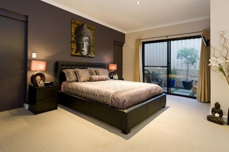 grey bedroom design idea from a real australian home