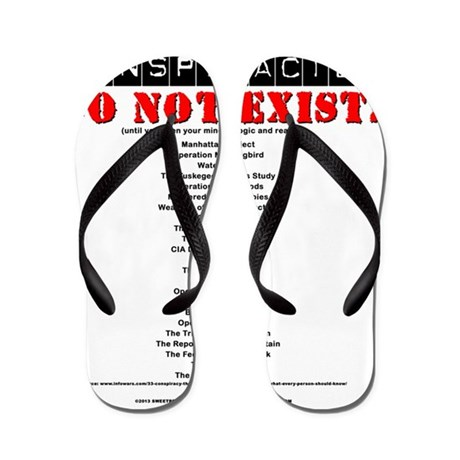 Conspiracy Theory Flip Flops  Conspiracy Theory Flip Flops Sandals .Flip Or Flop Conspiracy