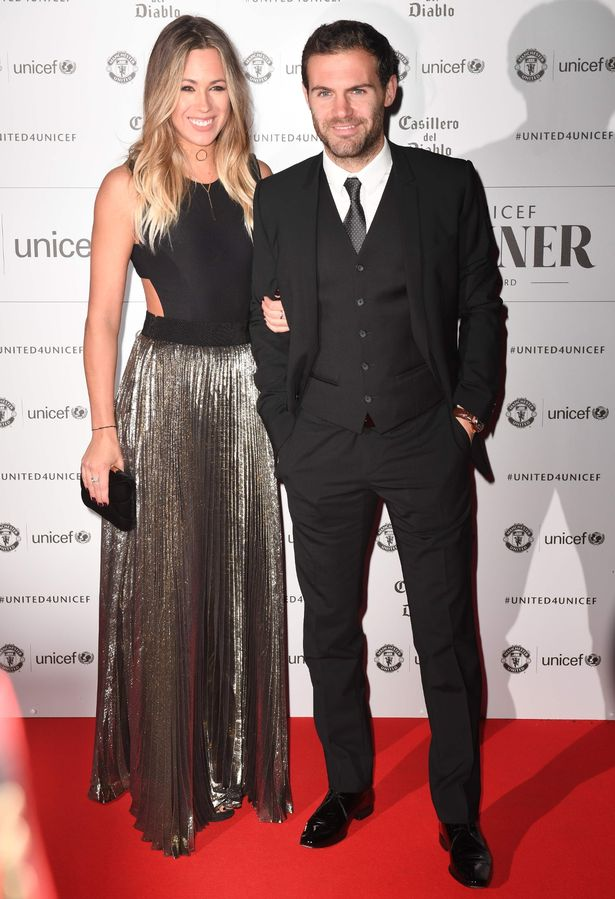 Juan Mata and Evelina Kamph