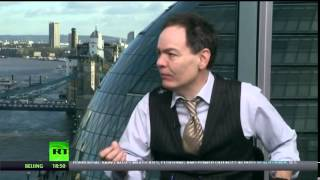 Bitcoin, CrowdFunding & Banking on Keiser Report with Simon Dixon