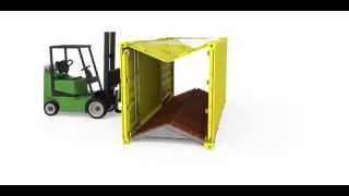 Staxxon Container - Cách thức hoạt động của các container xếp