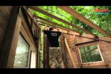"""The Wolfe's Den"" Treehouse – Tiny Yellow House"