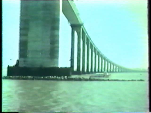 Archives vidéos de la construction du pont de Saint Nazaire
