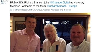 Richard Branson Joins The Digital Chamber of Commerce At The Blockchain Summit - Follow the Coin