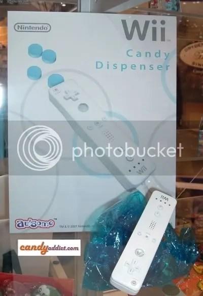 Wii candy Dispenser