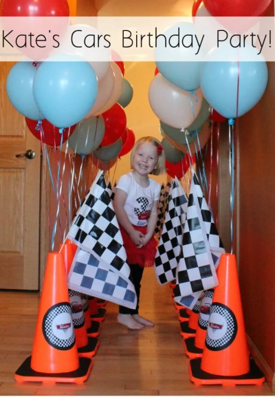 Cars Themed Birthday Party | www.allthingsgd.com