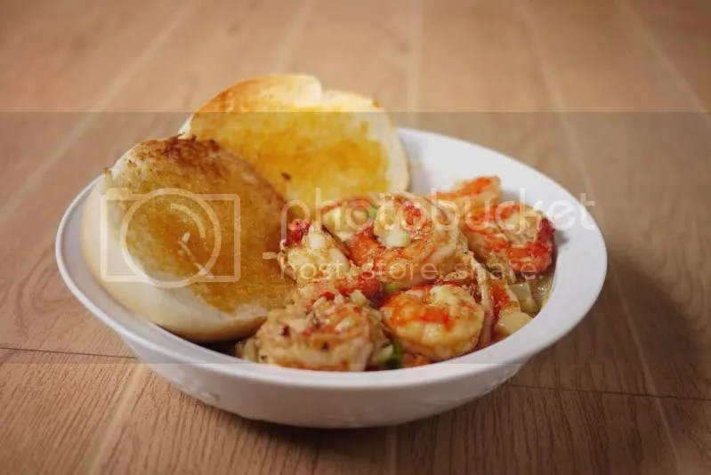Gambas/Shrimps in Garlic Butter (3/6)