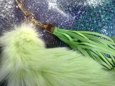 Louis Vuitton Fox Fur Tail Spring Summer 2010