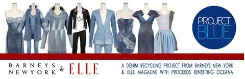 Project Blue by Barneys New York and Elle Magazine