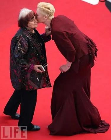 Tilda Swinton in Cannes 2009 pics