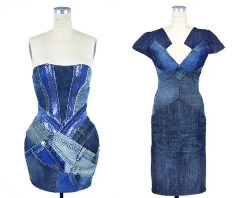 Versace and Bottega Veneta dress for Project Blue