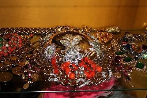 Anna Dello Russo's Home - Jewelry