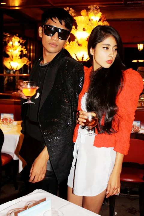 Bryanboy and Denni, the Chic Muse