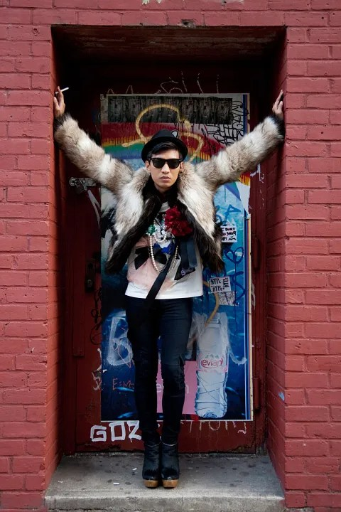 Bryanboy in Lanvin x H&M