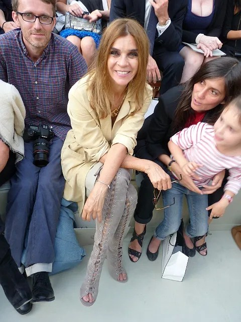 Chanel Haute Couture Fall 2010 - Loic Prigent, Carine Roitfeld, Emmanuelle Alt