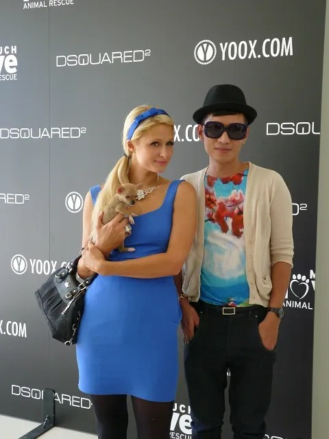 Paris Hilton and Bryanboy