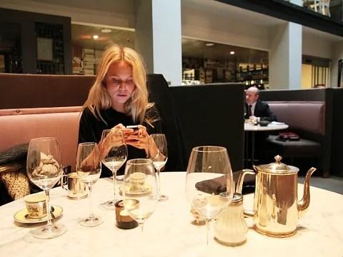 Elin Kling at Pontus! Restaurant Stockholm