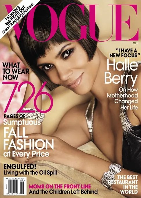Halle Berry for American Vogue Cover September 2010