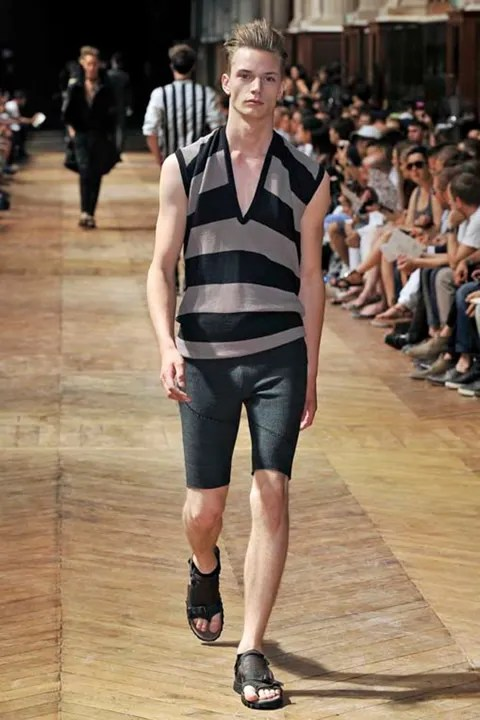 Linus Gustin at Prada Spring Summer 2011