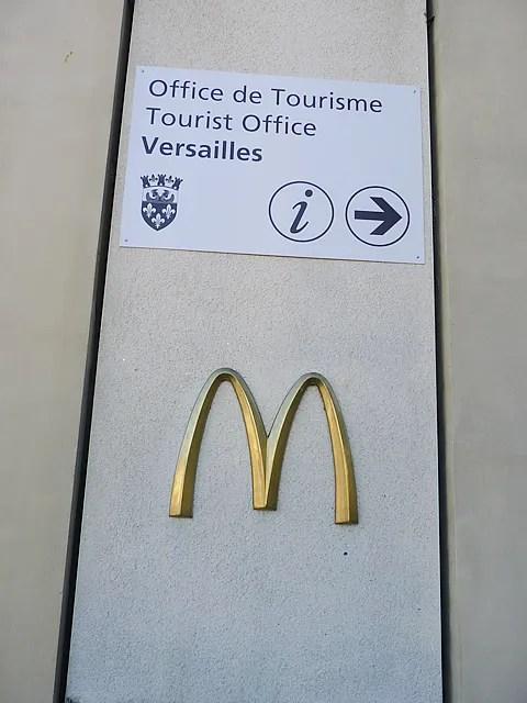 McDonald's Versailles France