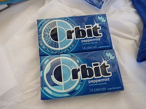 Orbit Peppermint Chewing Gum