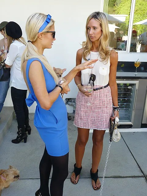 Paris and Lady Victoria Hervey