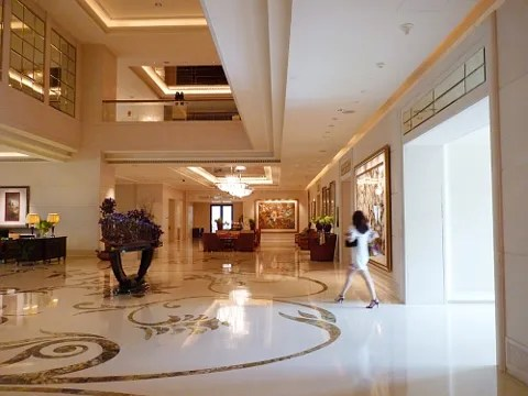 St. Regis Hotel Singapore lobby