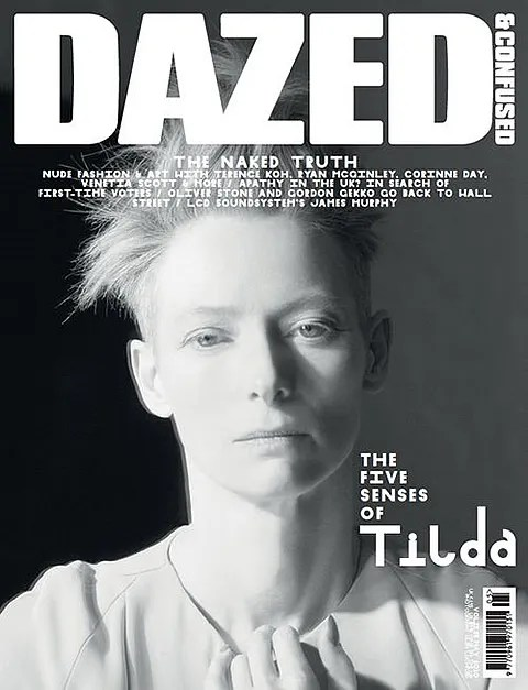Tilda Swinton for Dazed & Confused Magazine
