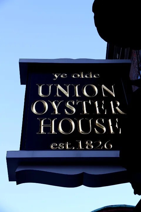 Union Oyster House Boston