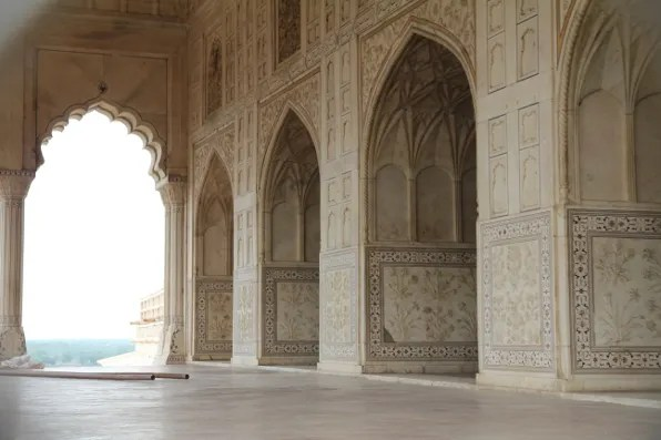 Shah Jahan's section at Agra Fort