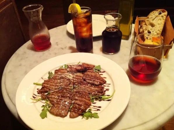 Lunch at Bar Stuzzichini, New York
