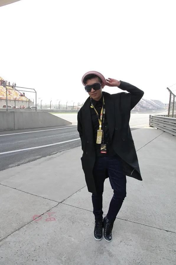 Bryanboy at Formula 1 Chinese Grand Prix Shanghai