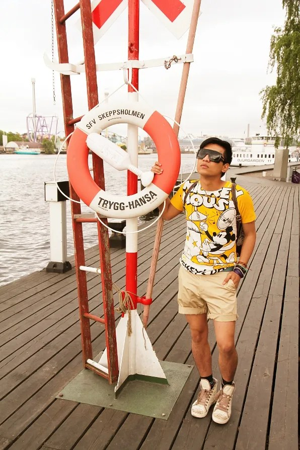 Bryanboy at Skeppsholmen, Sweden