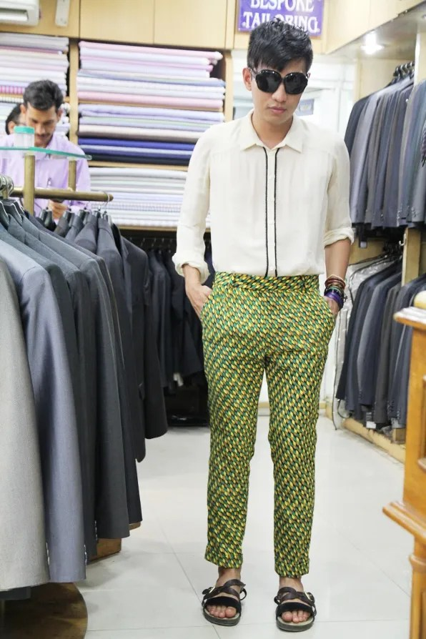 Bryanboy's tailored trousers