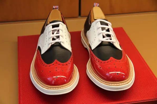 shoes from Church's for men spring summer 2012