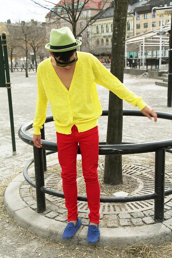 Bryanboy's Color Blocking Story. March 2011.
